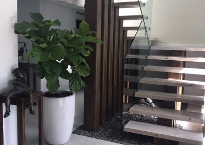 Modern Stairs, Stairs Design in columns, Marzia and Julio House